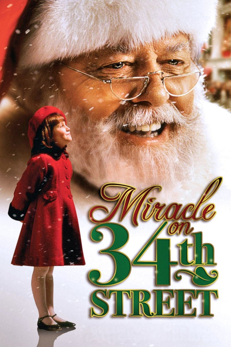 "Poster for the movie ""Miracle on 34th Street"""