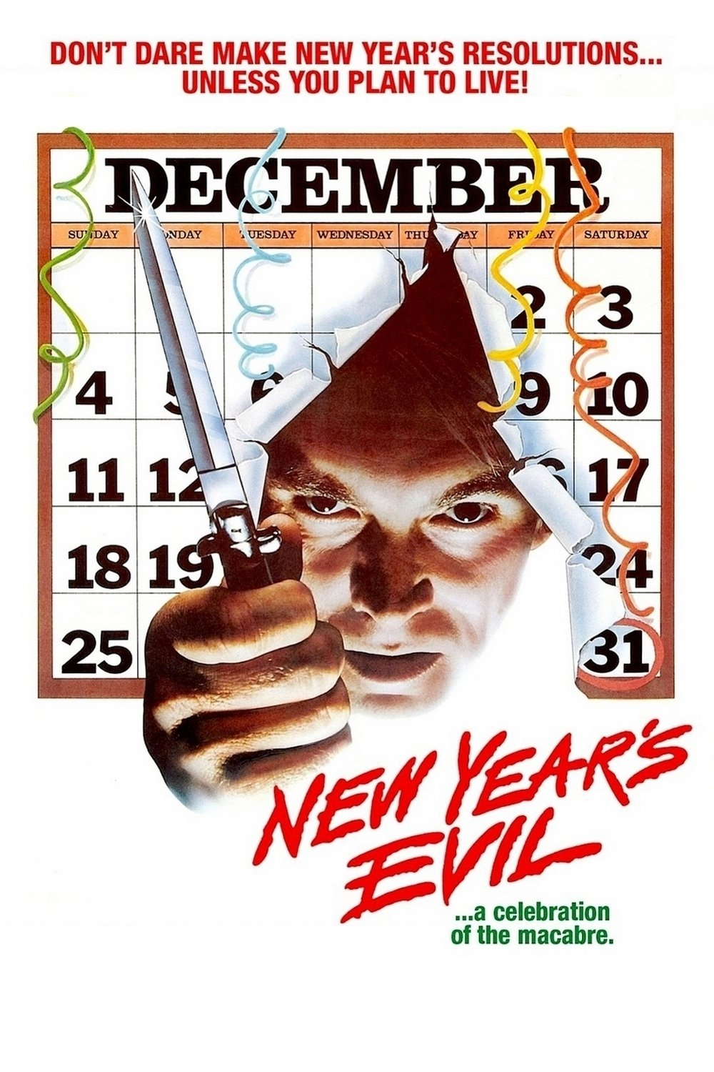 """Poster for the movie """"New Year's Evil"""""""