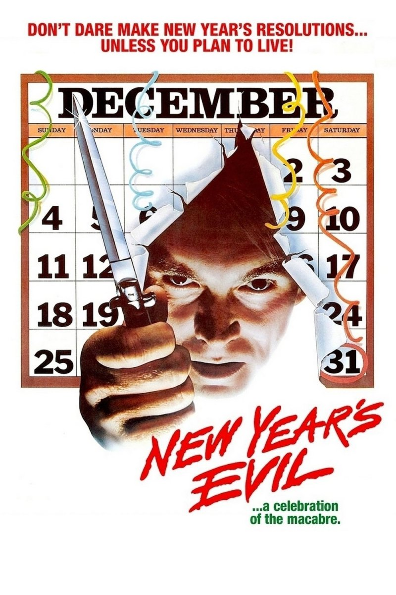 "Poster for the movie ""New Year's Evil"""