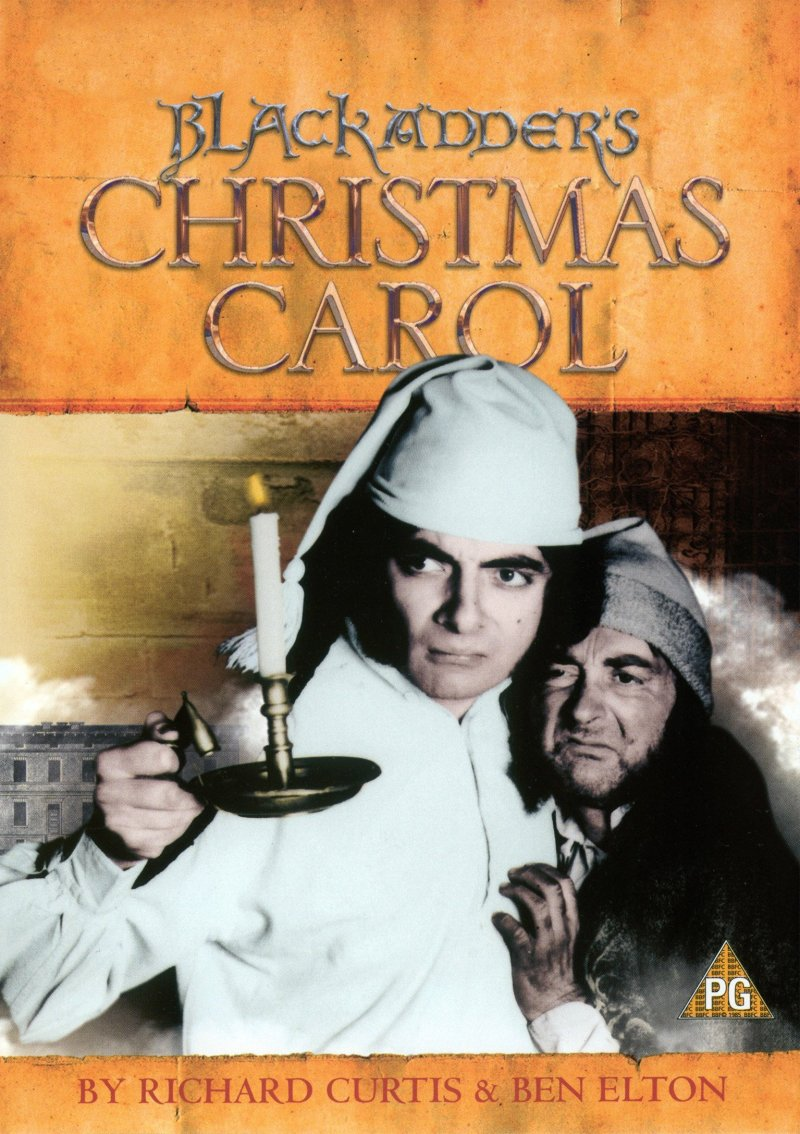 "Poster for the movie ""Blackadder's Christmas Carol"""