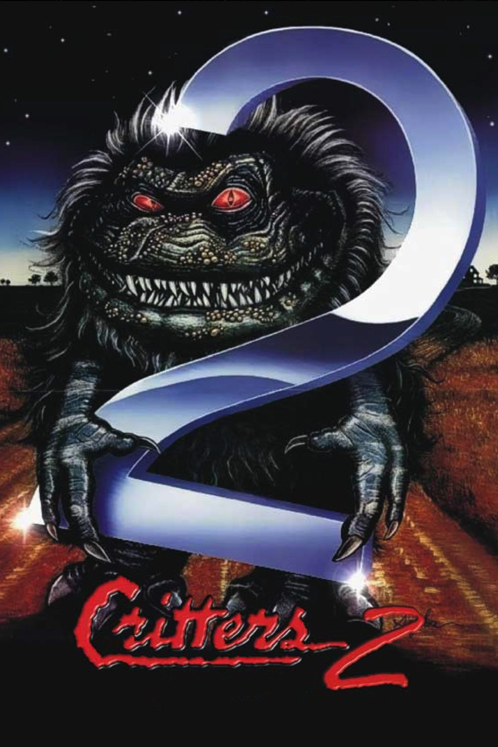 """Poster for the movie """"Critters 2"""""""