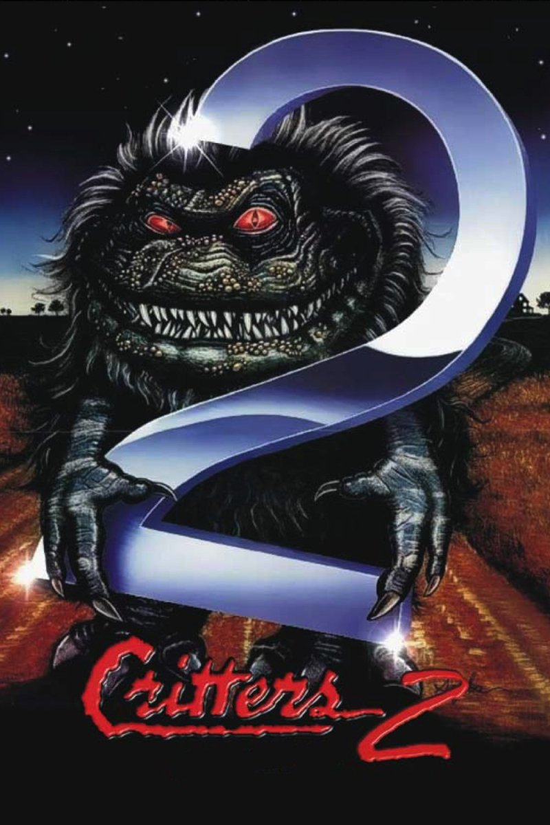 "Poster for the movie ""Critters 2"""