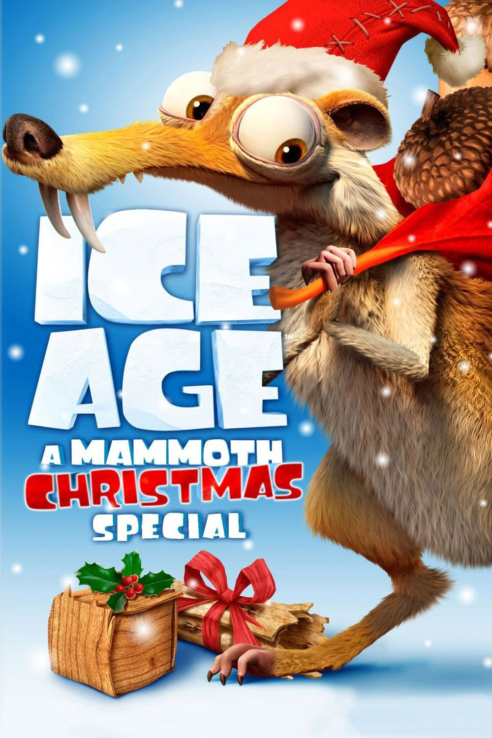 """Poster for the movie """"Ice Age: A Mammoth Christmas"""""""