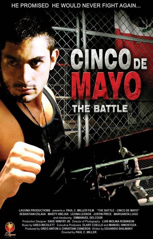"Poster for the movie ""The Battle: Cinco de Mayo"""
