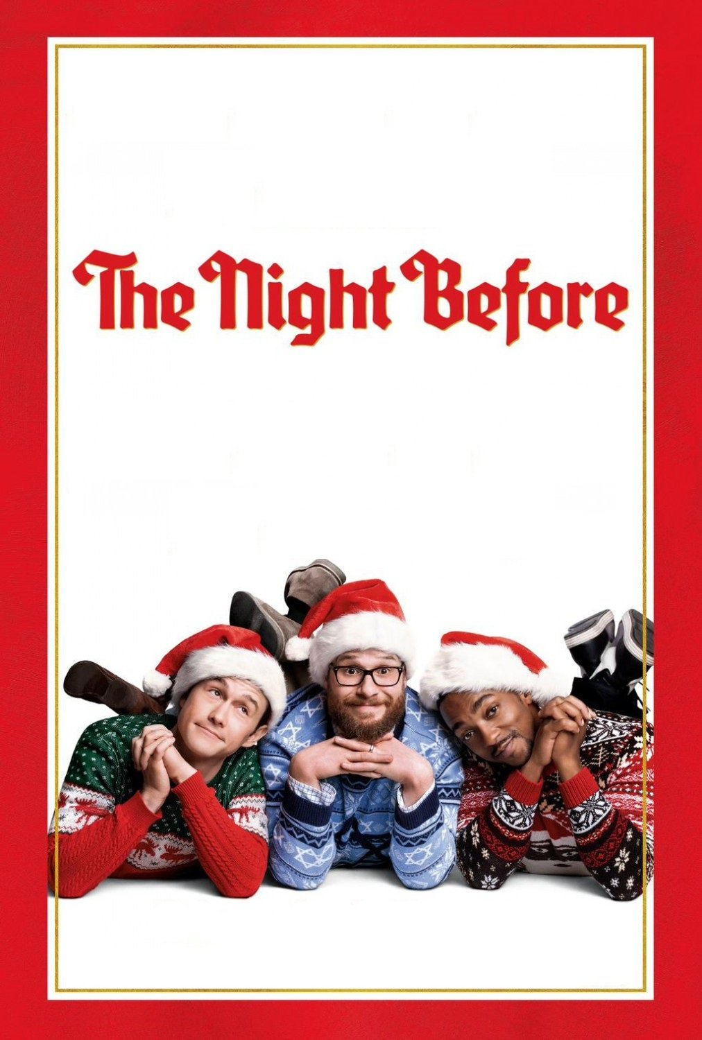 """Poster for the movie """"The Night Before"""""""