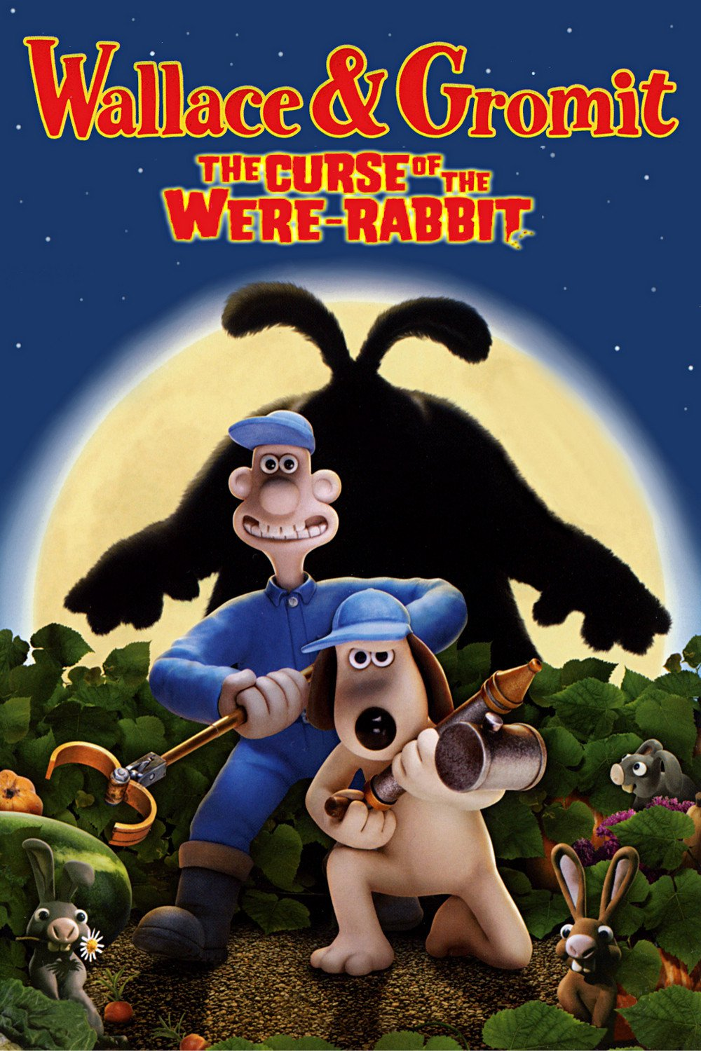 """Poster for the movie """"The Curse of the Were-Rabbit"""""""