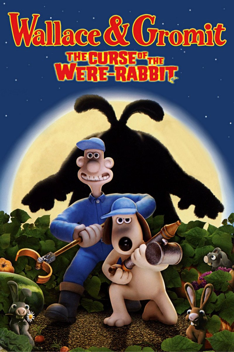 "Poster for the movie ""The Curse of the Were-Rabbit"""