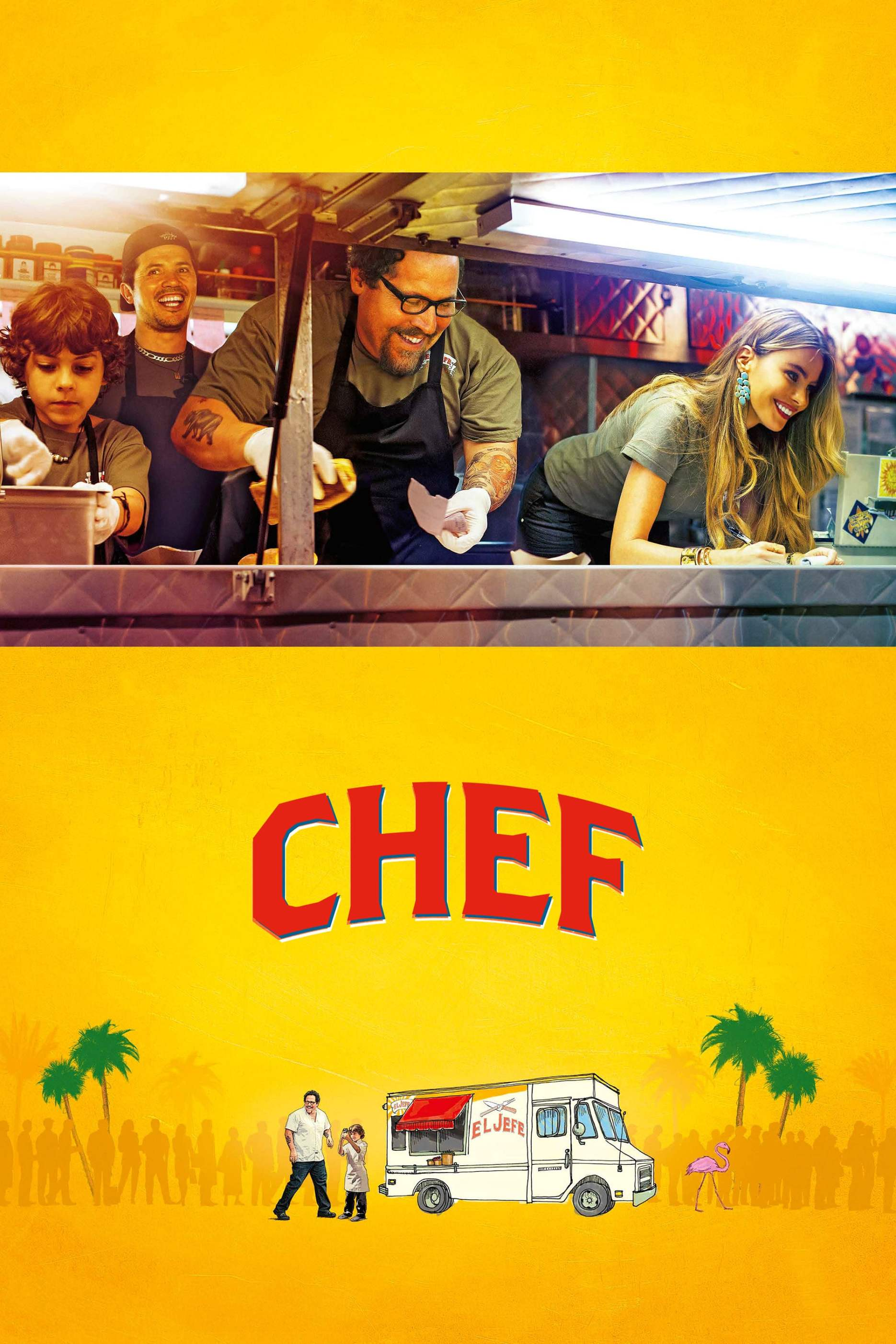 "Poster for the movie ""Chef"""