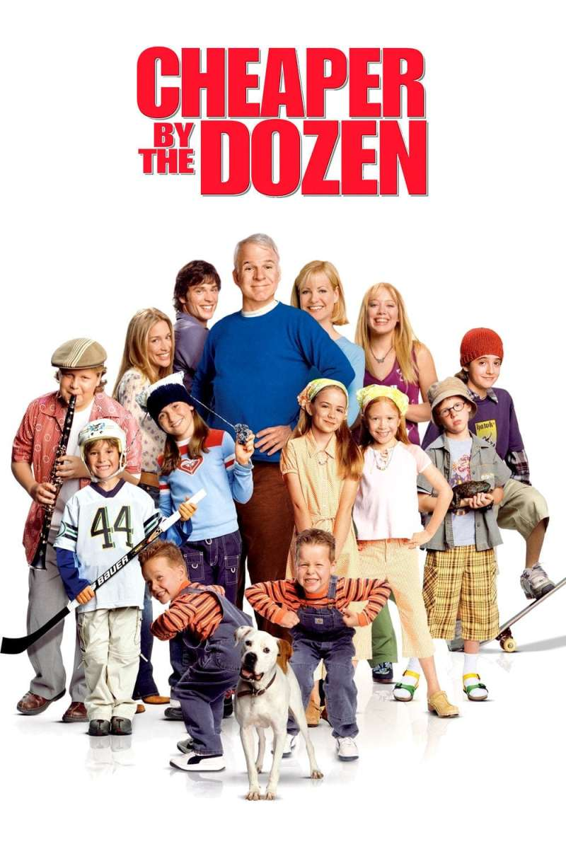 "Poster for the movie ""Cheaper by the Dozen"""