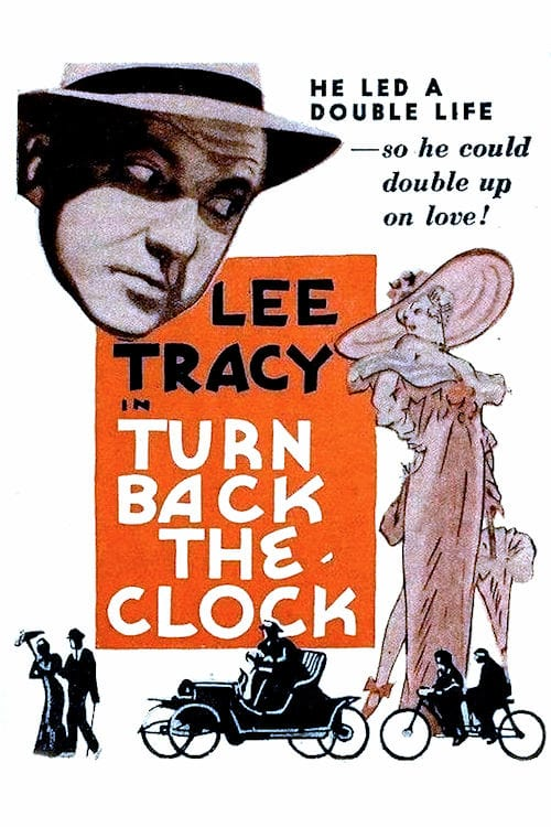 """Poster for the movie """"Turn Back the Clock"""""""