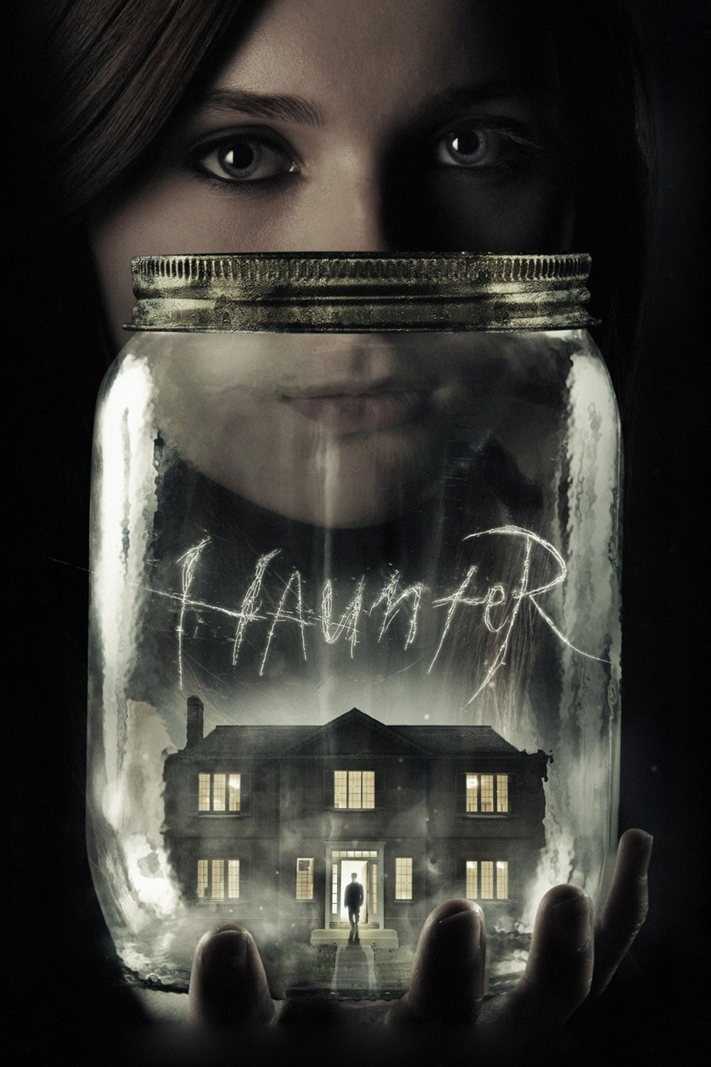 "Poster for the movie ""Haunter"""