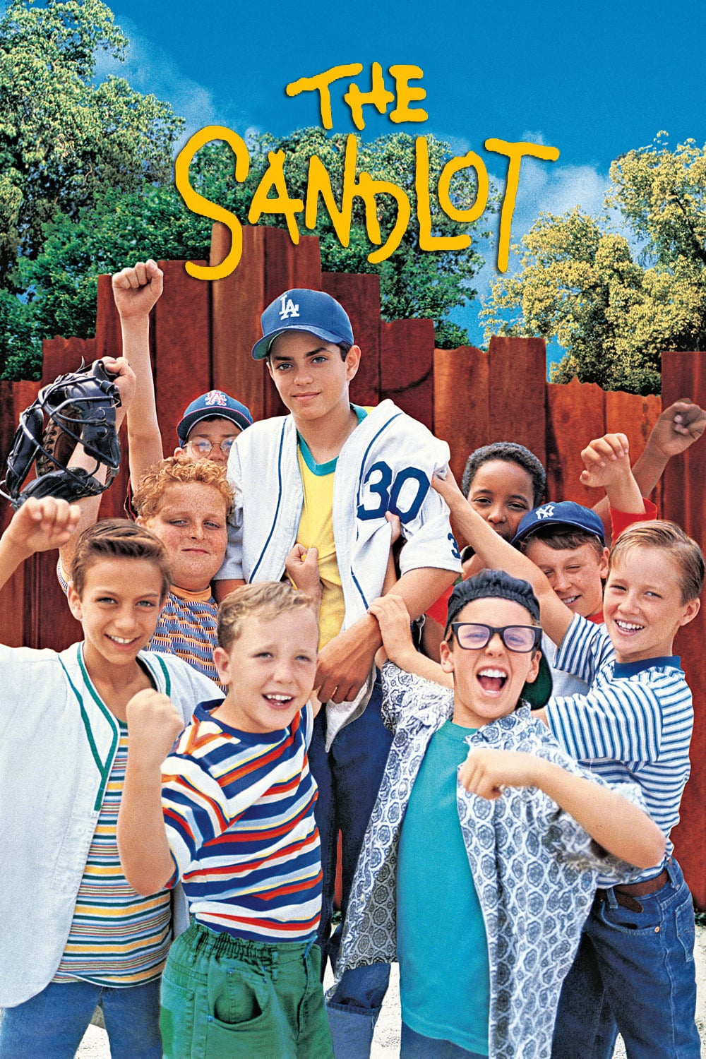 """Poster for the movie """"The Sandlot"""""""