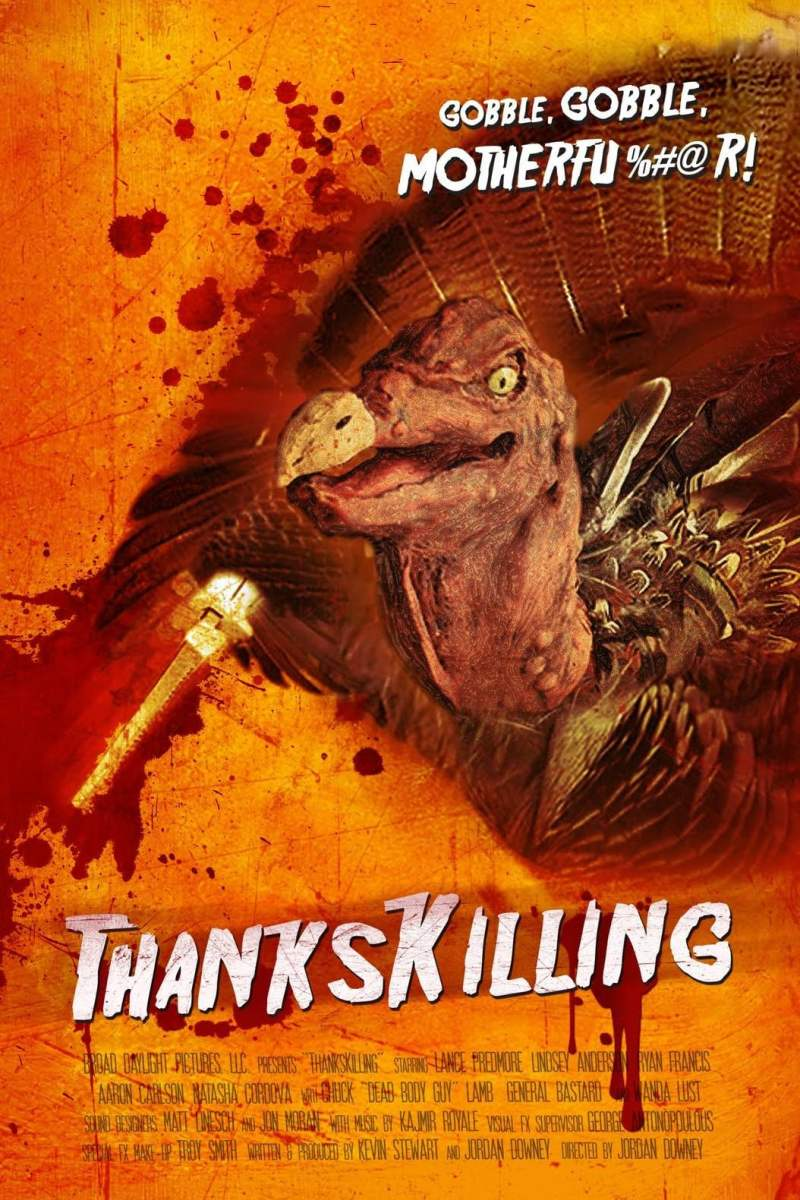 "Poster for the movie ""ThanksKilling"""