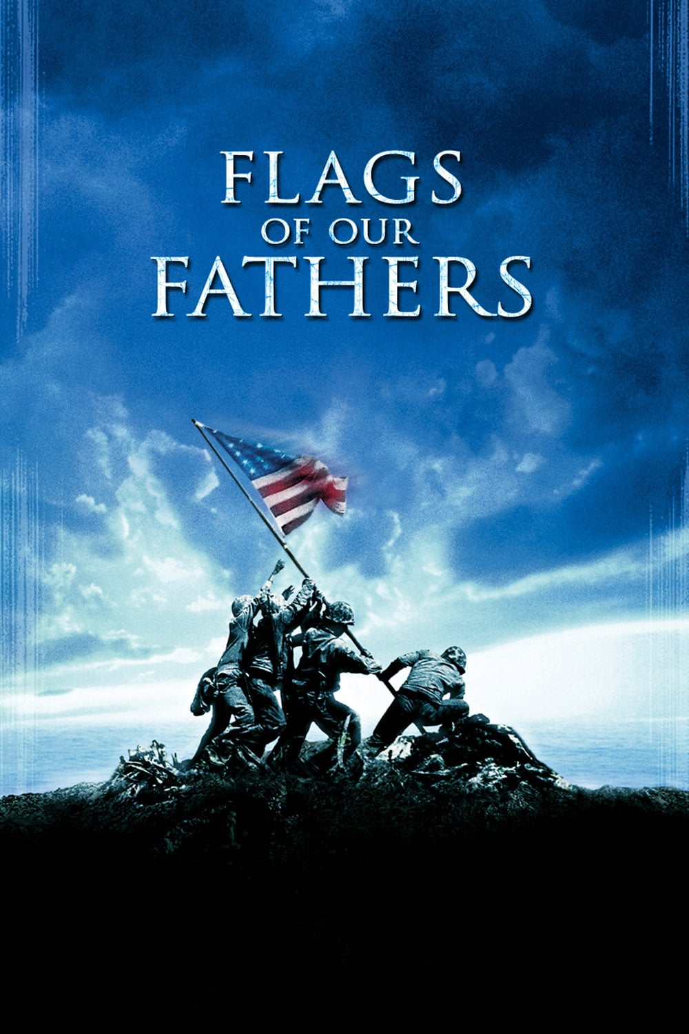 """Poster for the movie """"Flags of Our Fathers"""""""