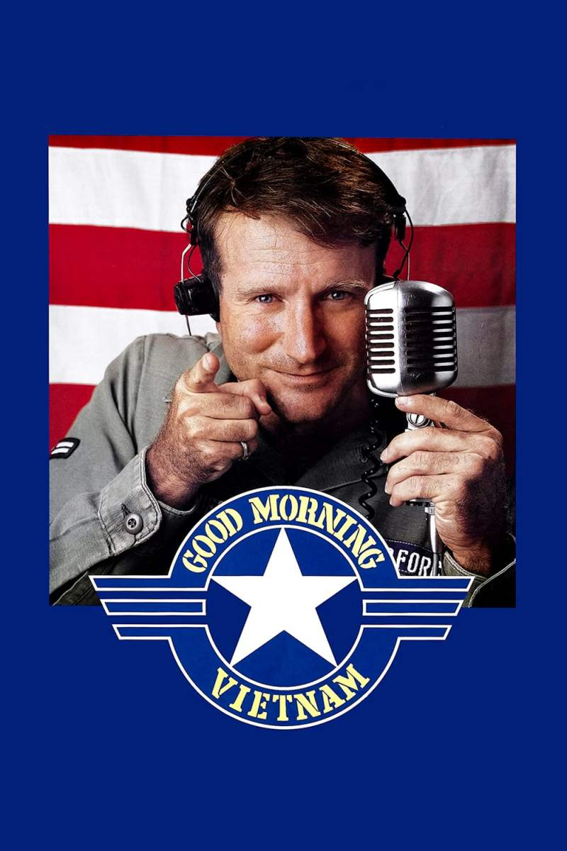 "Poster for the movie ""Good Morning, Vietnam"""
