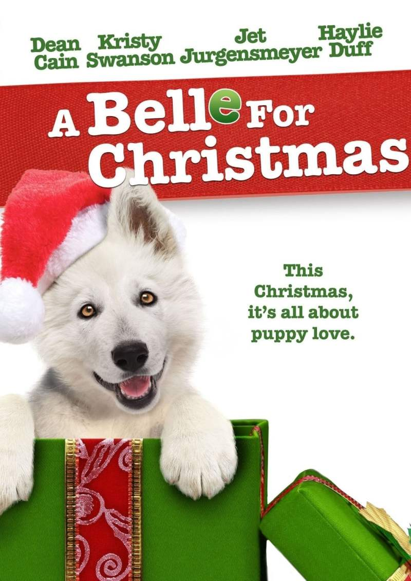 "Poster for the movie ""A Belle for Christmas"""