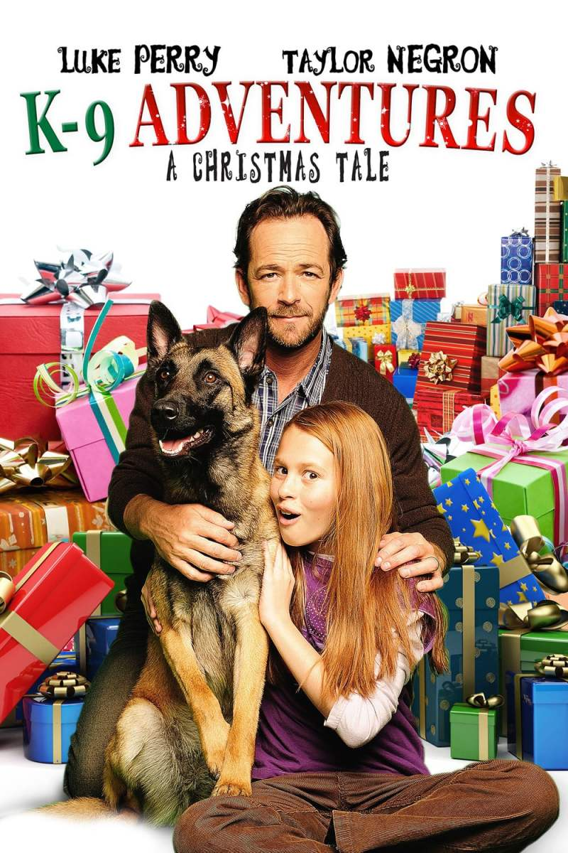 "Poster for the movie ""K-9 Adventures: A Christmas Tale"""
