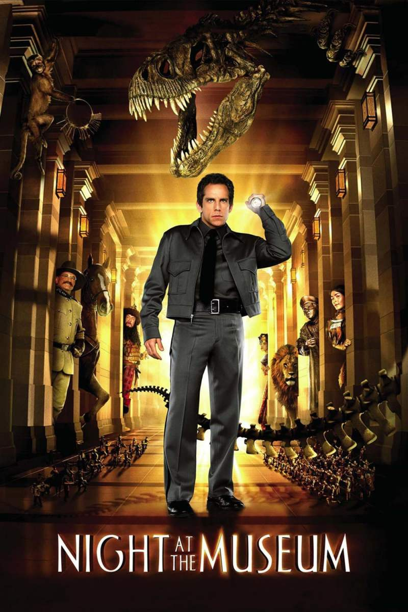 "Poster for the movie ""Night at the Museum"""