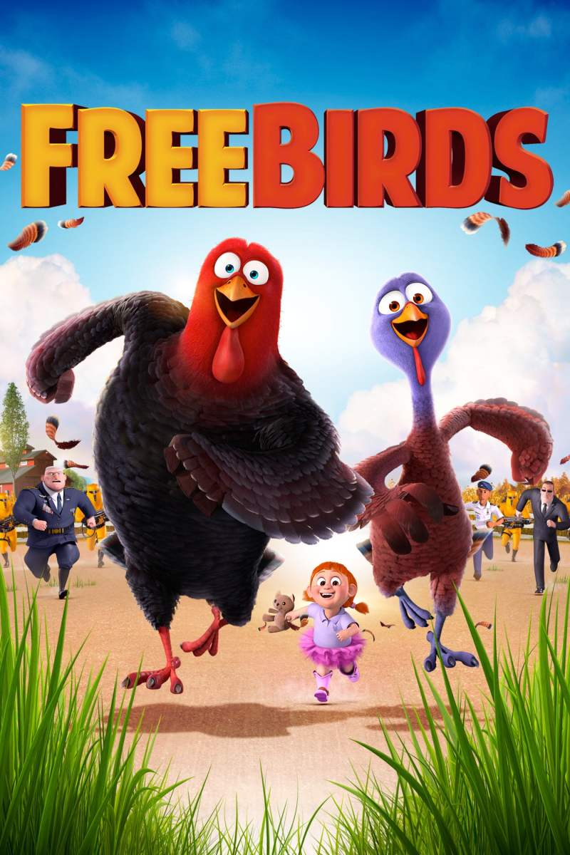 "Poster for the movie ""Free Birds"""