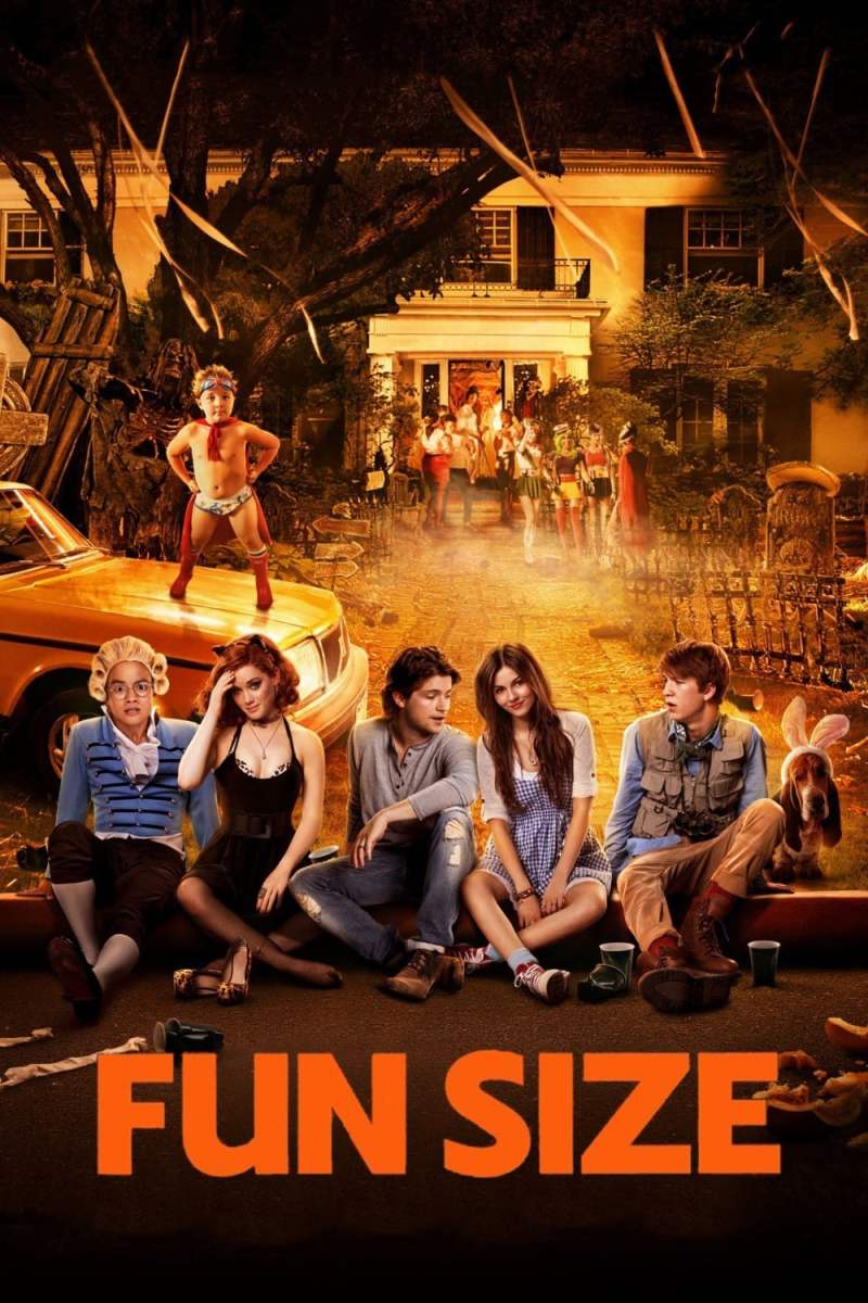 """Poster for the movie """"Fun Size"""""""