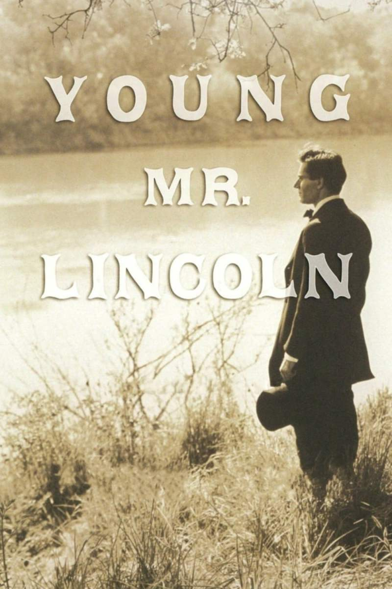 "Poster for the movie ""Young Mr. Lincoln"""