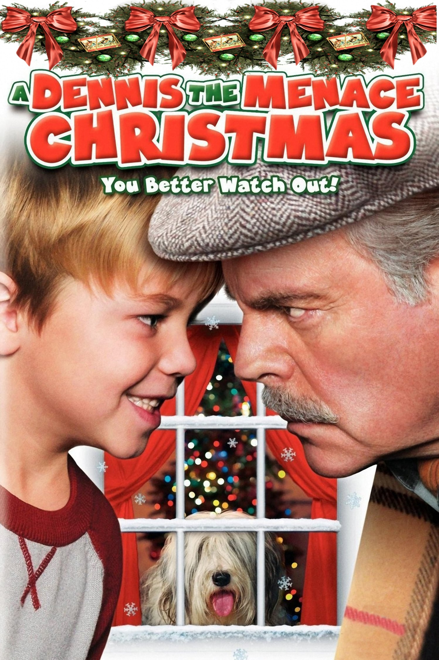 """Poster for the movie """"A Dennis the Menace Christmas"""""""