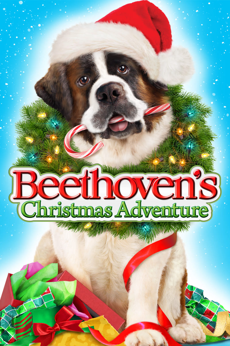 "Poster for the movie ""Beethoven's Christmas Adventure"""