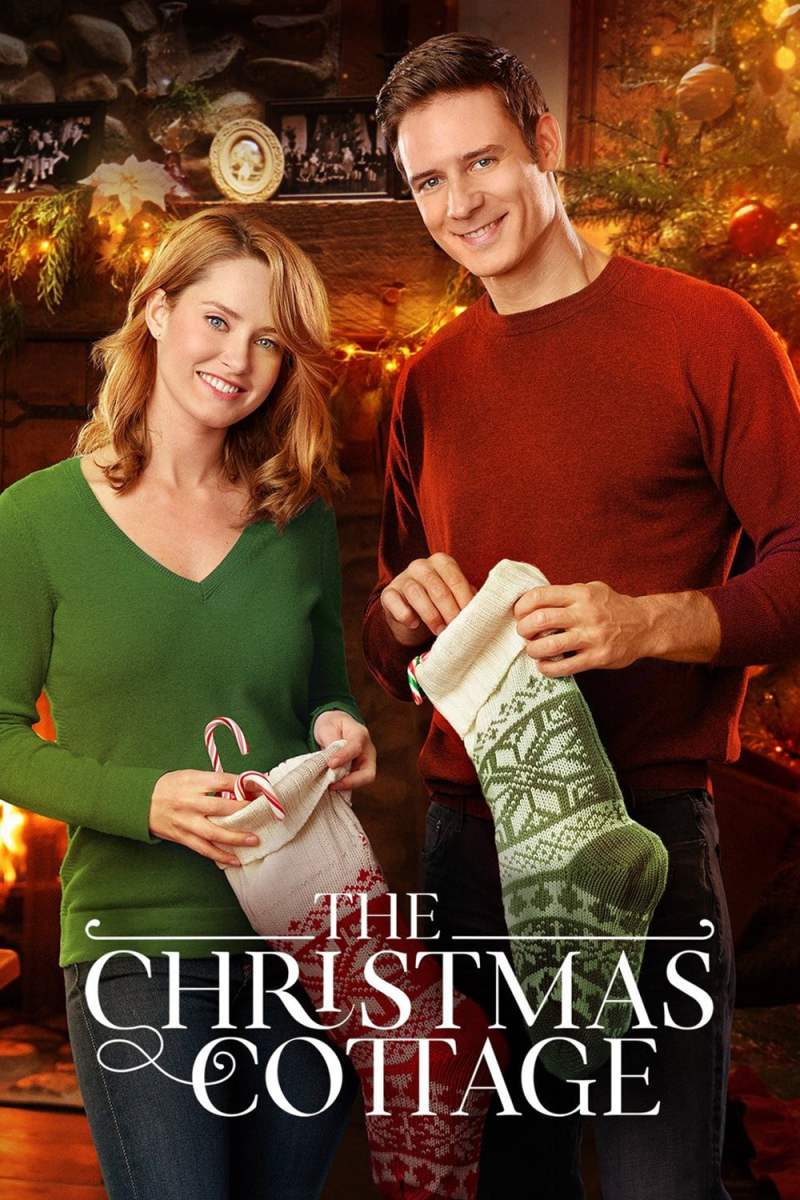 "Poster for the movie ""The Christmas Cottage"""