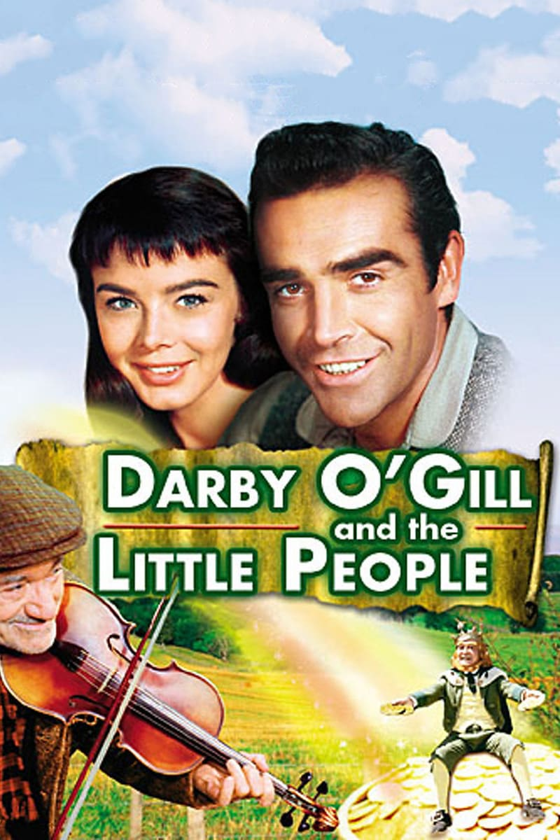 "Poster for the movie ""Darby O'Gill and the Little People"""