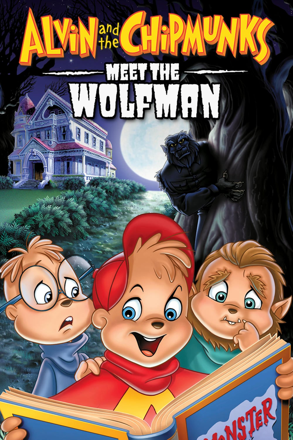 """Poster for the movie """"Alvin and the Chipmunks Meet the Wolfman"""""""