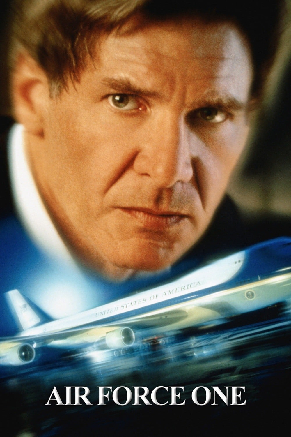 """Poster for the movie """"Air Force One"""""""