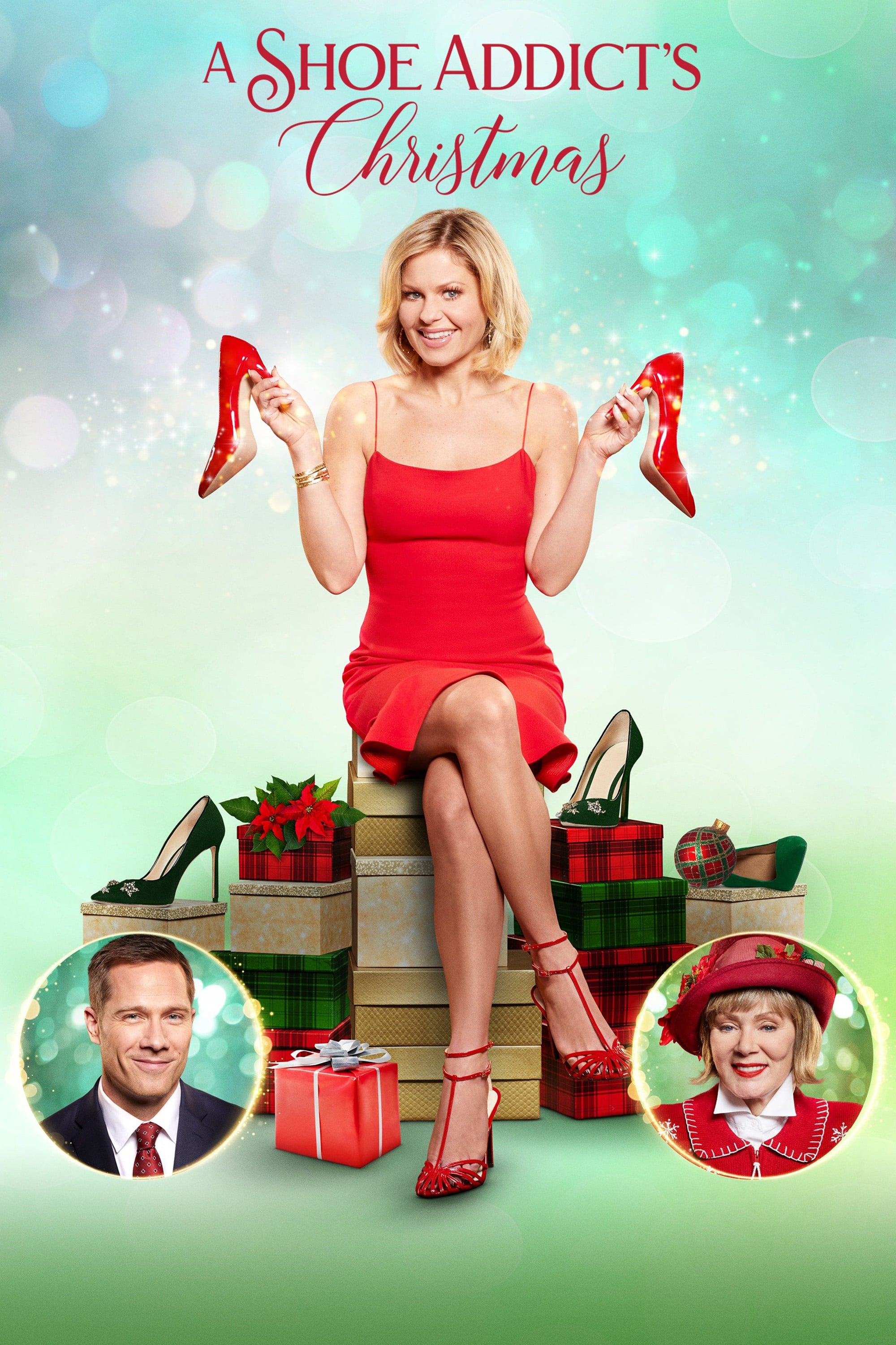 """Poster for the movie """"A Shoe Addict's Christmas"""""""