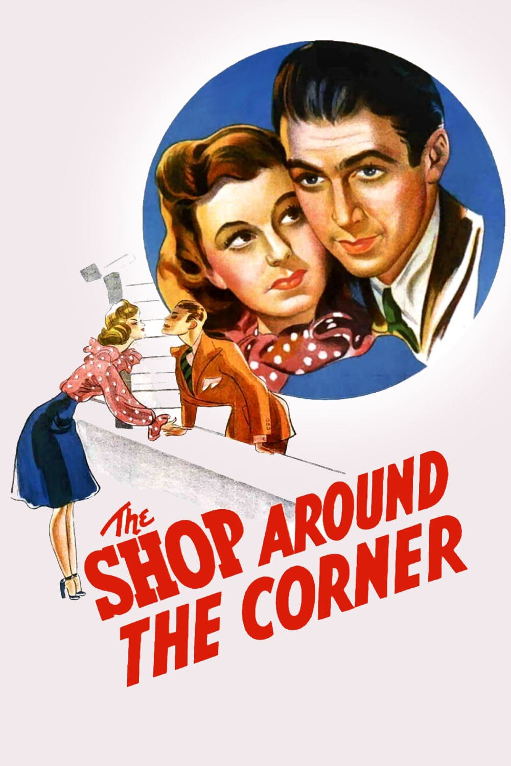 "Poster for the movie ""The Shop Around the Corner"""