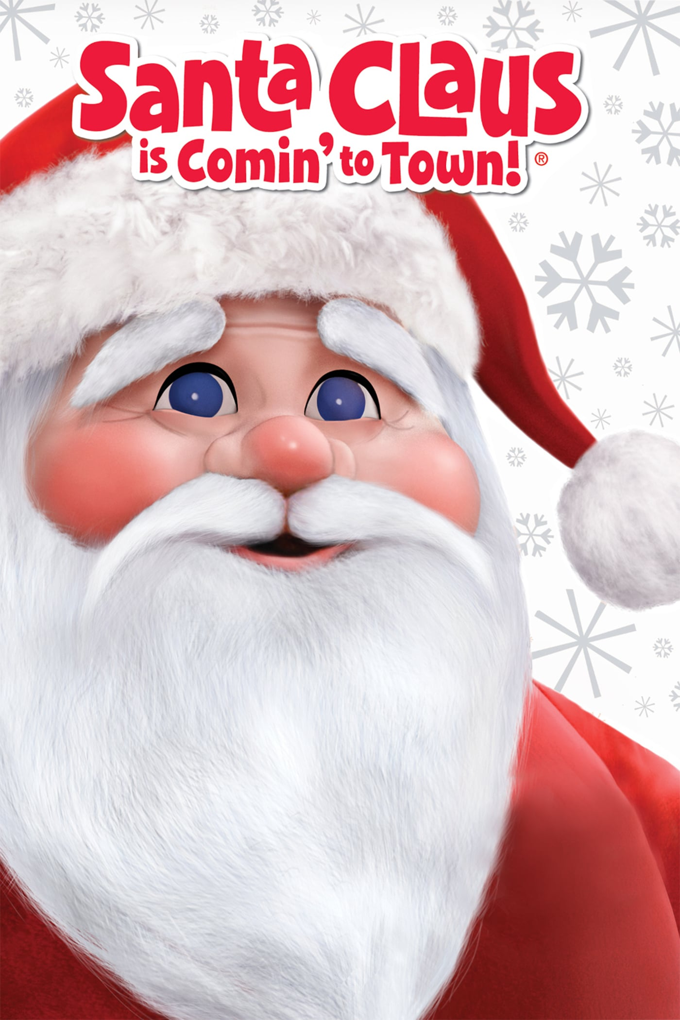 "Poster for the movie ""Santa Claus Is Comin' to Town"""