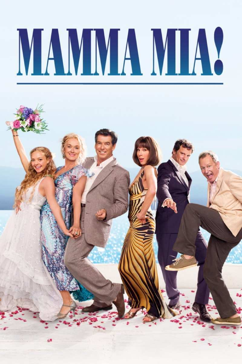 "Poster for the movie ""Mamma Mia!"""