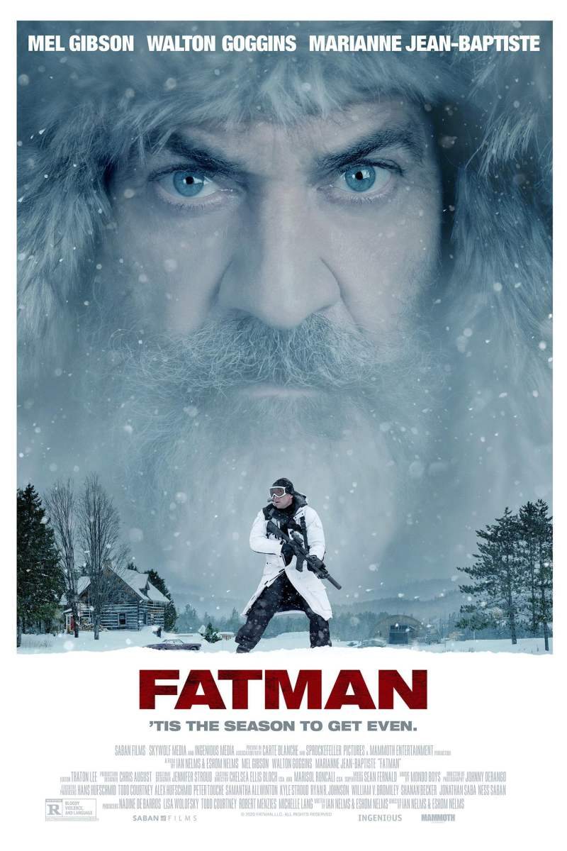"Poster for the movie ""Fatman"""
