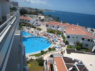 Club Atlantis Tenerife heated pool