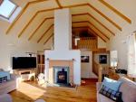 Askival Elgol Skye House living area