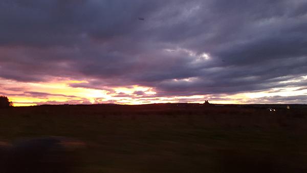 Sunset at Newton Hill