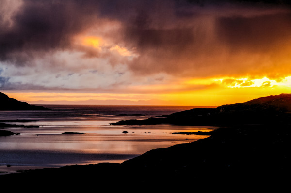 Isle of South Uist sunset