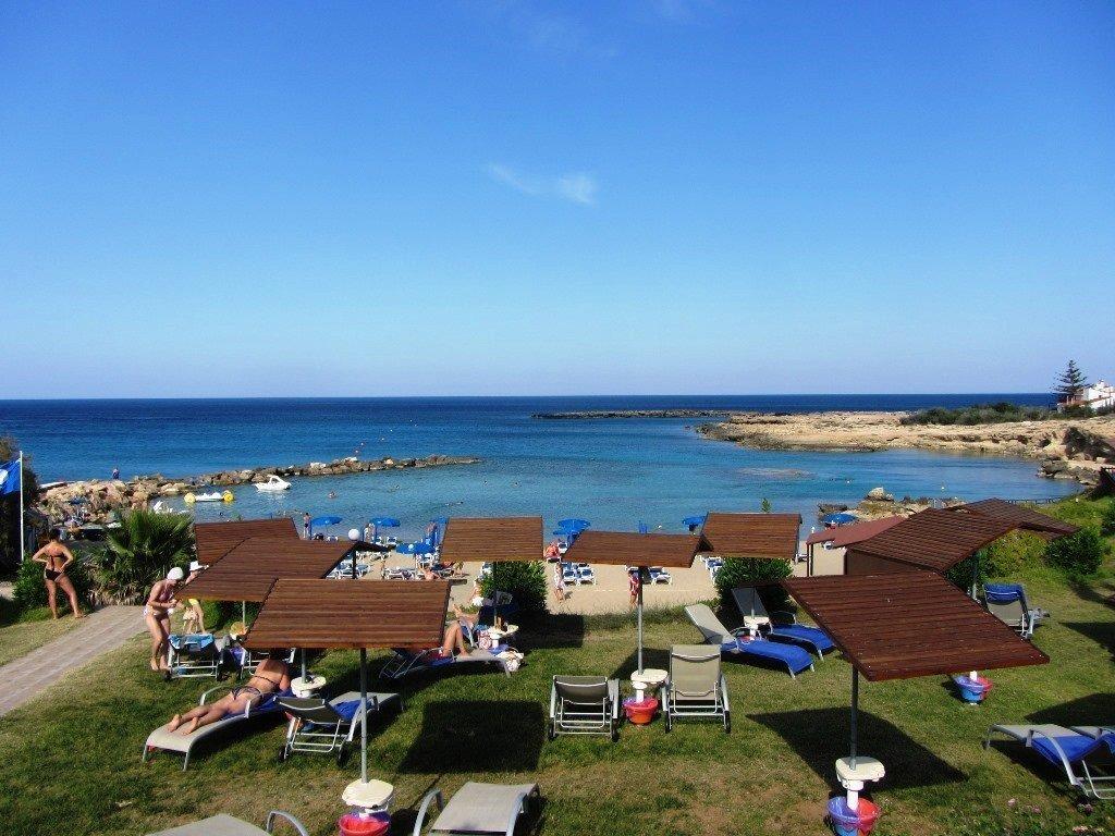 sofa protaras mid century leather australia green bay apartment in - holidays to cyprus villas