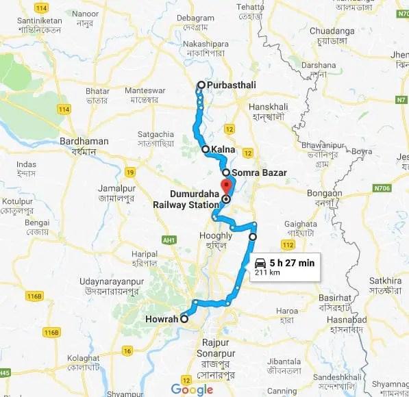 katwa route details