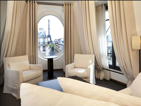 Hotels With A View Of The Eiffel Tower France