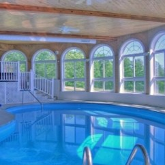 Sleeper Sofas Queen Size Tan Leather Chesterfield Sofa Timber Ridge Log Home: Boyne City Vacation Rental With ...