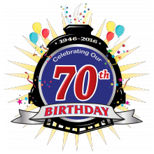 70th Birthday logo