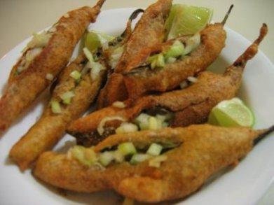 Mirchi Bada,  Food of Rajasthan, Rajasthani Food