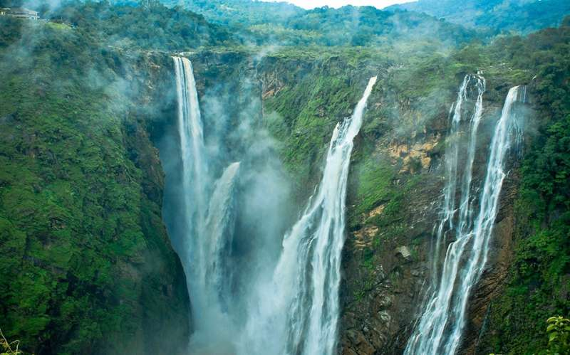 Jog Falls Wallpapers Desktop Most Beautiful Waterfalls In India Holidify