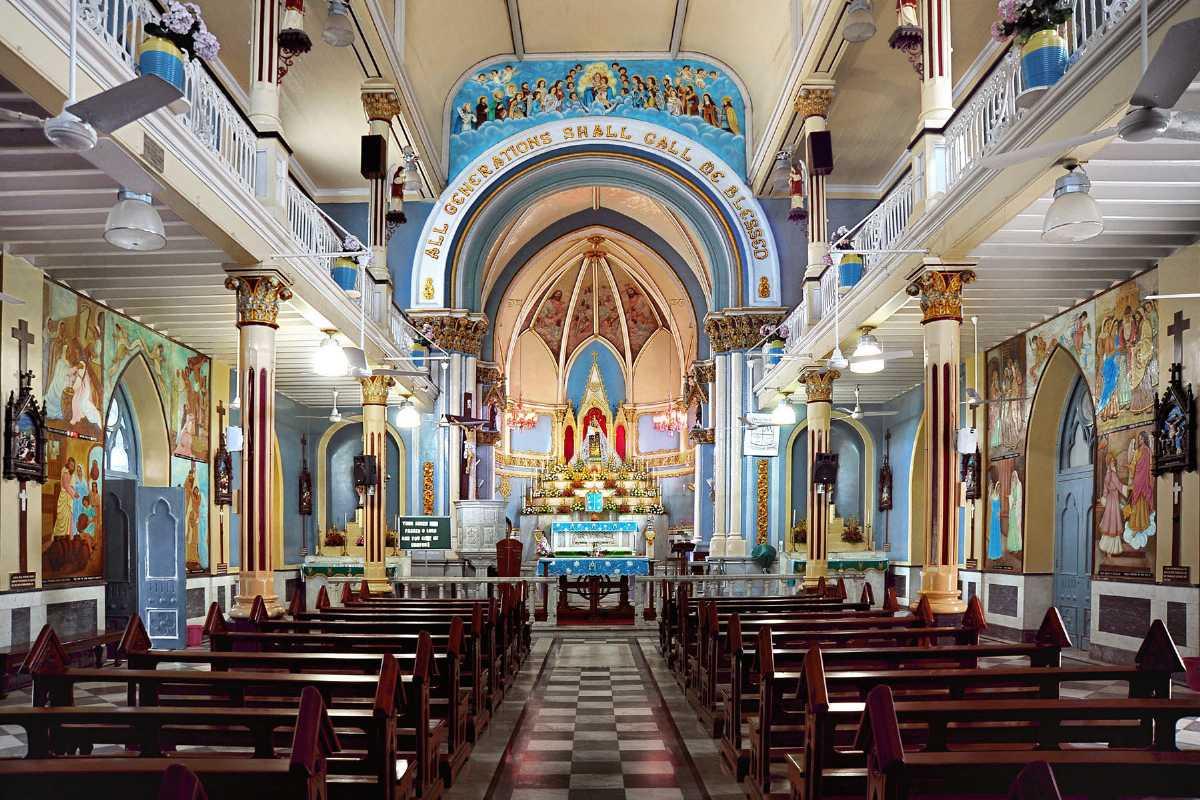 Siddhivinayak Hd Wallpaper Download Mount Mary Church Bandra Mumbai Mass Timings Address