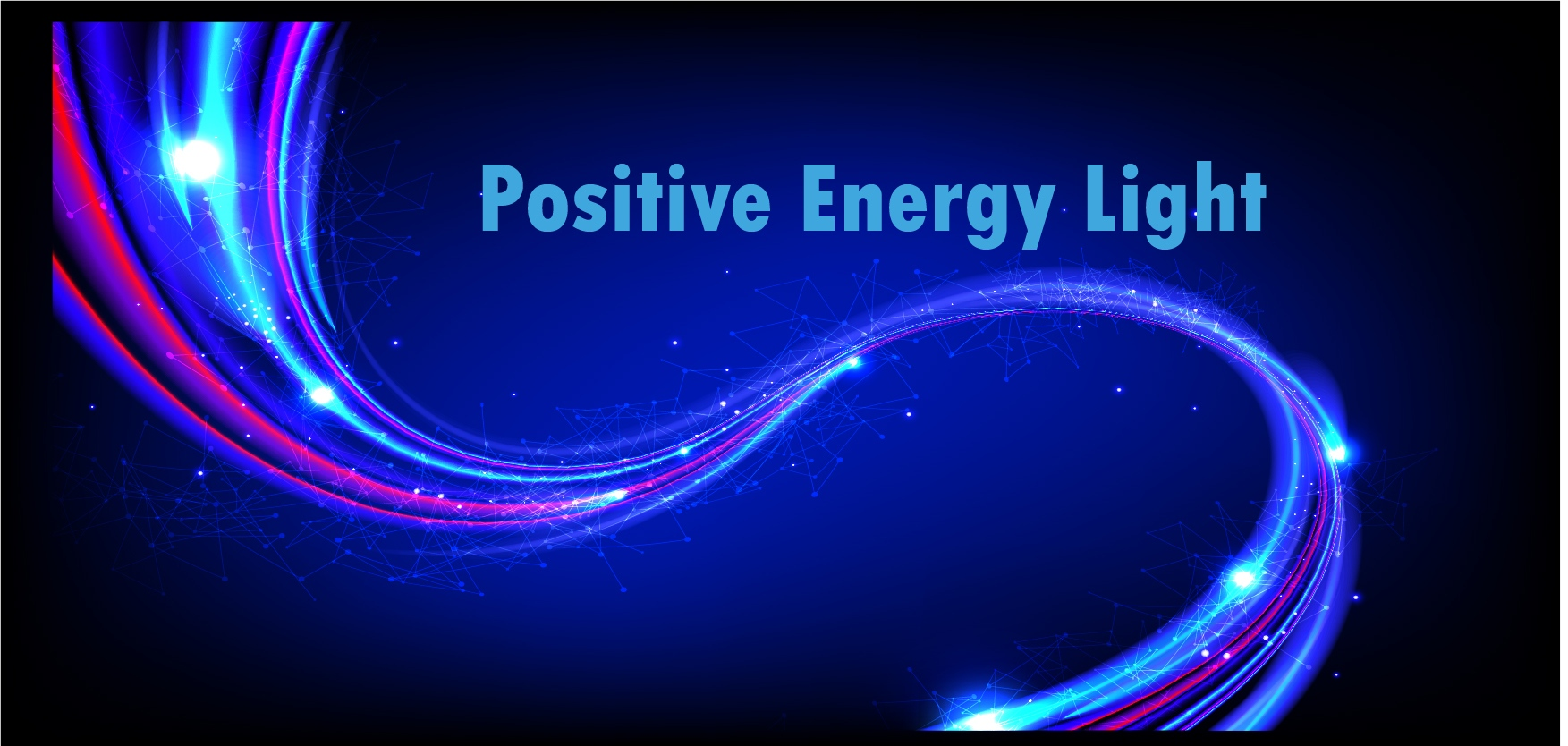 positive energy light relieves stress