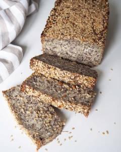 Glutenfreies Saatenbrot Life-Changing-Bread